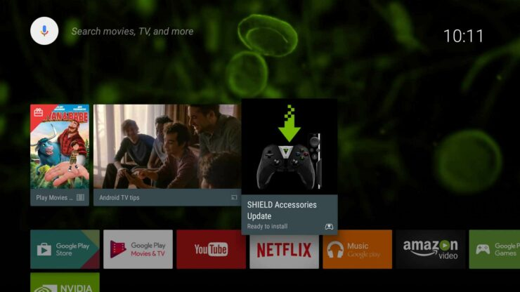 Nvidia Shield TV 2 (2017) Interface