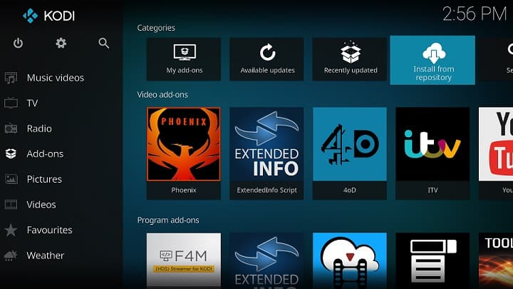 Install Kodi Add-on to Copy Kodi Profiles