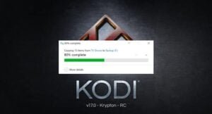 Copy Kodi to another device