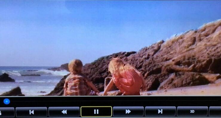 Tbox T8 V Smart TV Box Video Playback