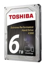 Internal Toshiba X300 SATA Hard Disk