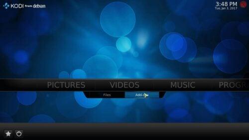 Kodi Videos UI