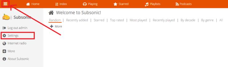 Setup Subsonic On Ubuntu