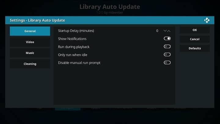 Kodi Utility Addons - Library Update