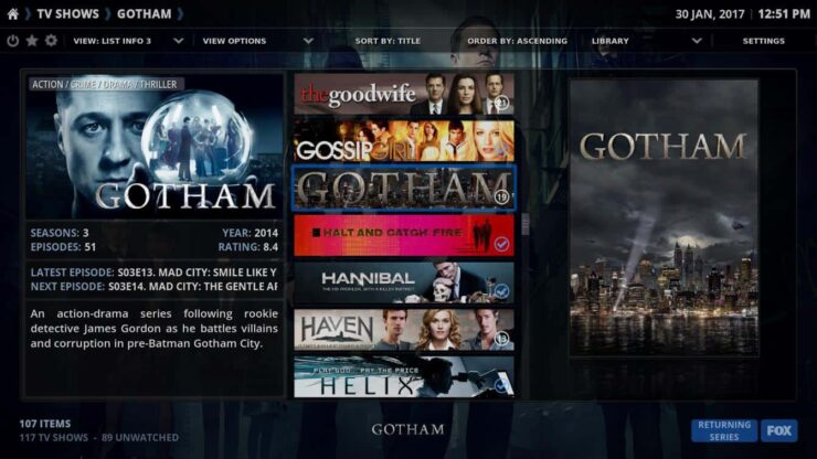 best kodi themes