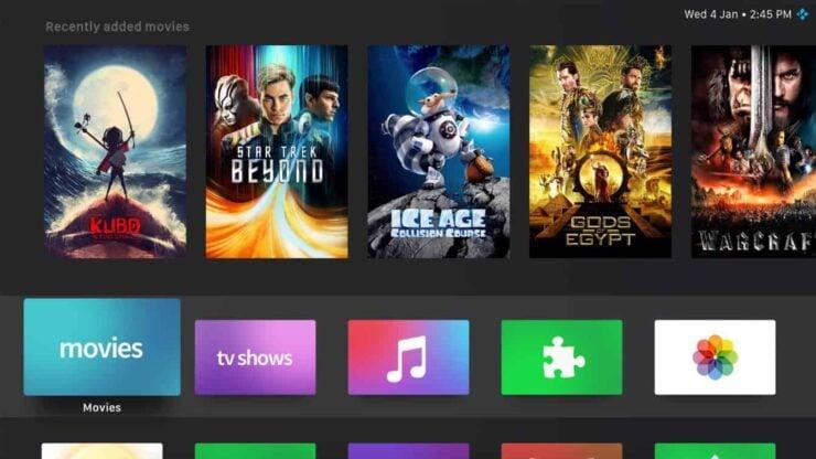 Kodi Skins For Nvidia Shield Tv - Sio2 Skin