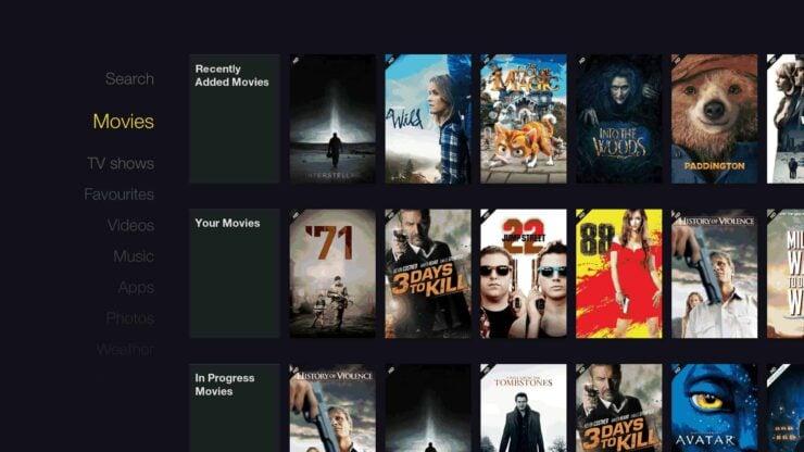 fTV Skin - Best Kodi Skin for the Fire TV