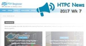 HTPC News Roundup 2017 Wk 7: Linux Home Server Distros, Plex and Alexa, 4K Apple TV