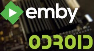 setup emby server with odroid c2