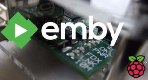 setup emby server with raspberry pi