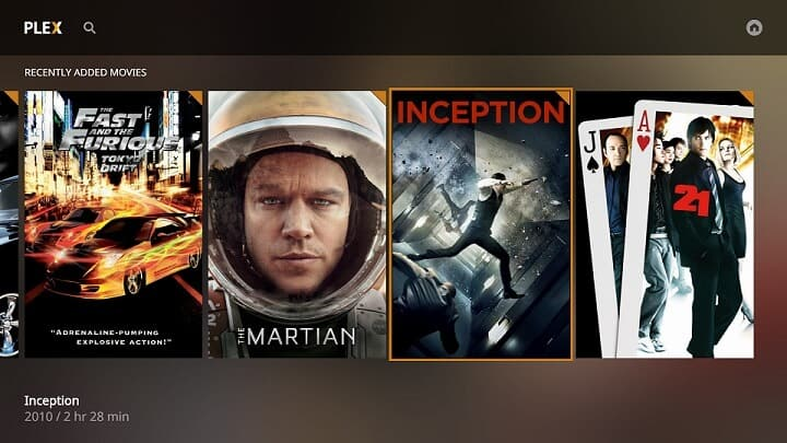 Plex - Alternatives to Kodi