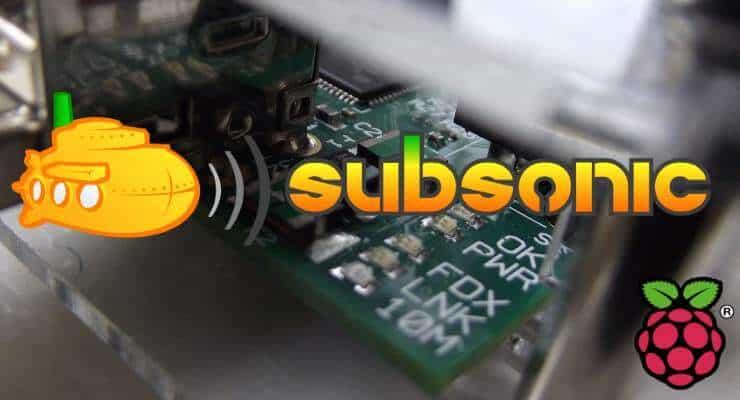 Setup Subsonic on Raspberry Pi