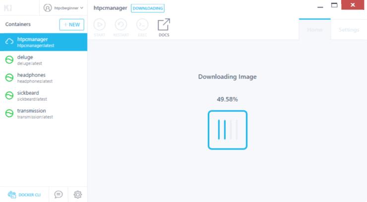 HTPC Manager Docker Hub Download