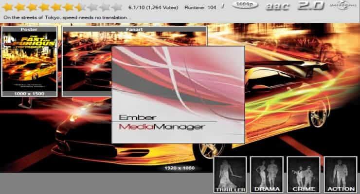 Setup Ember Media Manager