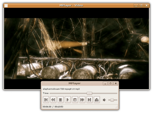 Best Linux media center software: MPlayer