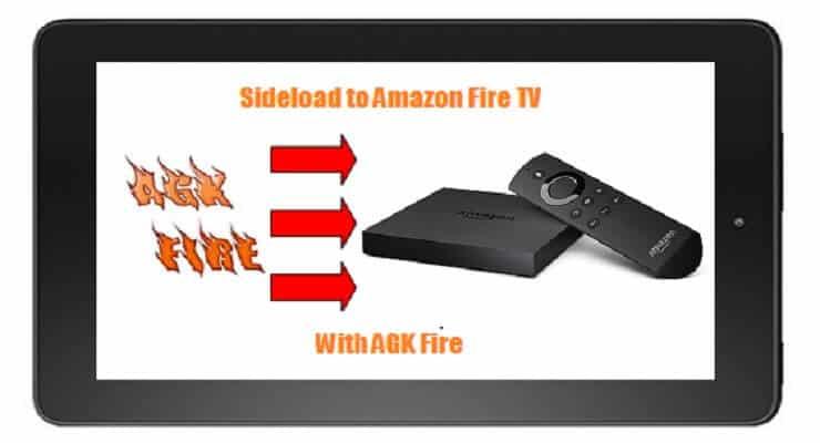 Sideload Kodi AGK Fire