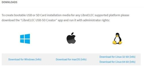Install libreelec on HTPC - live CD download