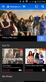 PlayStation Vue review - Android app
