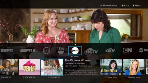 Sling TV cable alternative - channel lineup