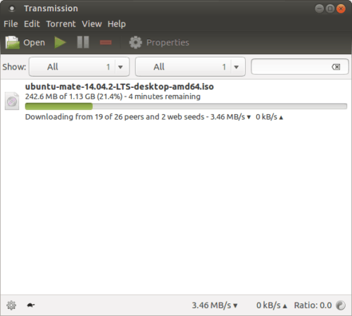Best BitTorrent clients for Linux - Transmission