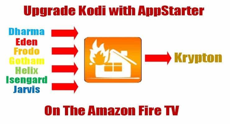 Upgrade Kodi on Amazon Fire TV