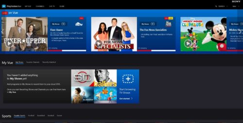 PlayStation Vue review - PS Vue online