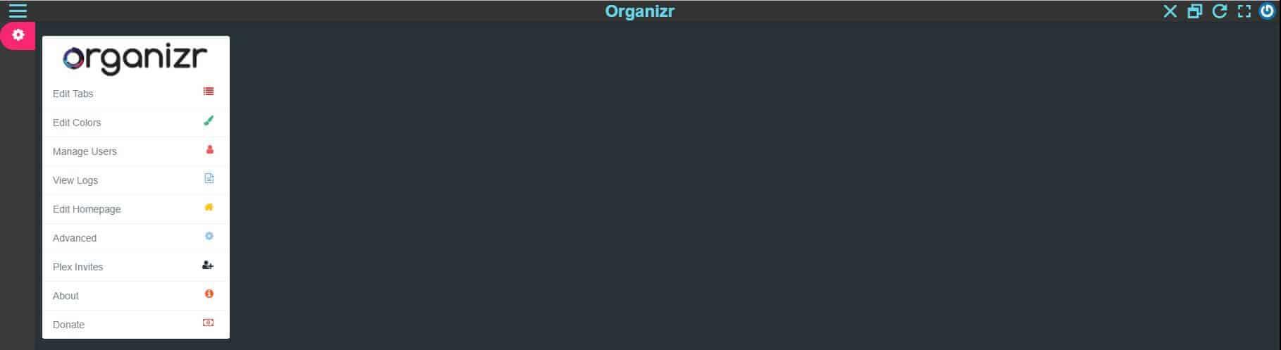 Install Organizr using Docker - HTPC/Homelab services organizer