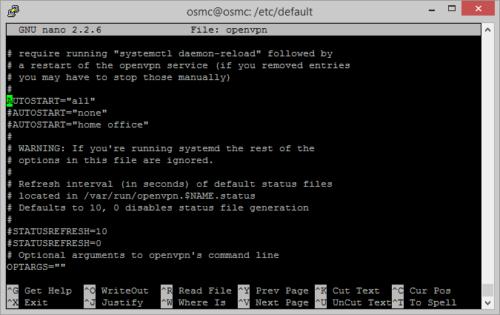configure openvpn to autostart - Systemd Linux