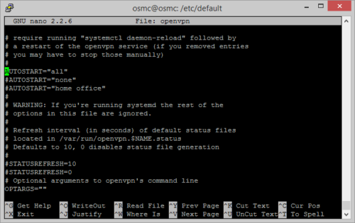 Guide: Configure OpenVPN to autostart on systemd Linux