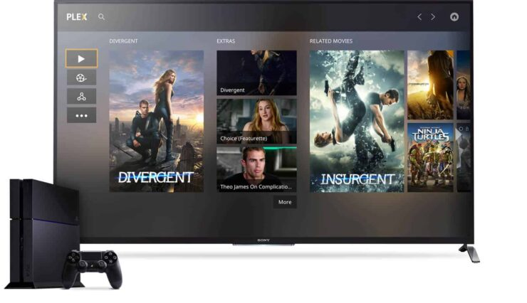 Best PlayStation 4 streaming apps - Plex