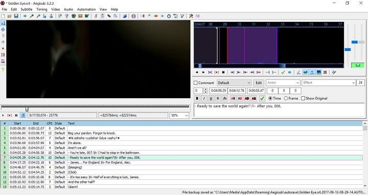 edit subtitles with aegisub - 5 best software to manually edit subtitles and correct synch errors