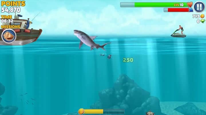 Best Amazon Fire TV Games 2017 Hungry Shark