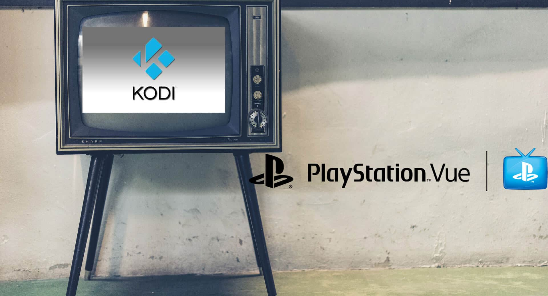 How to install PS Vue on Kodi
