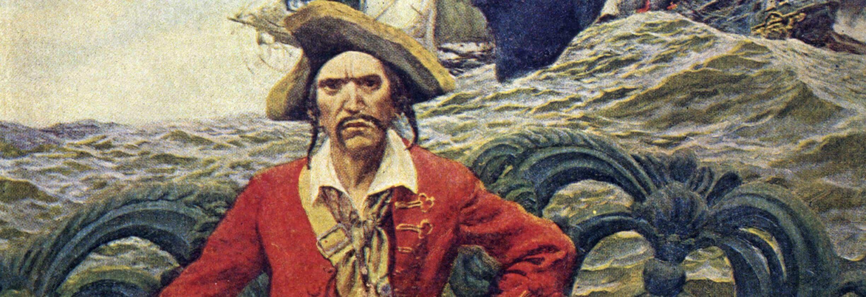 Pirate Captain On Deck Banner - Smarthomebeginner