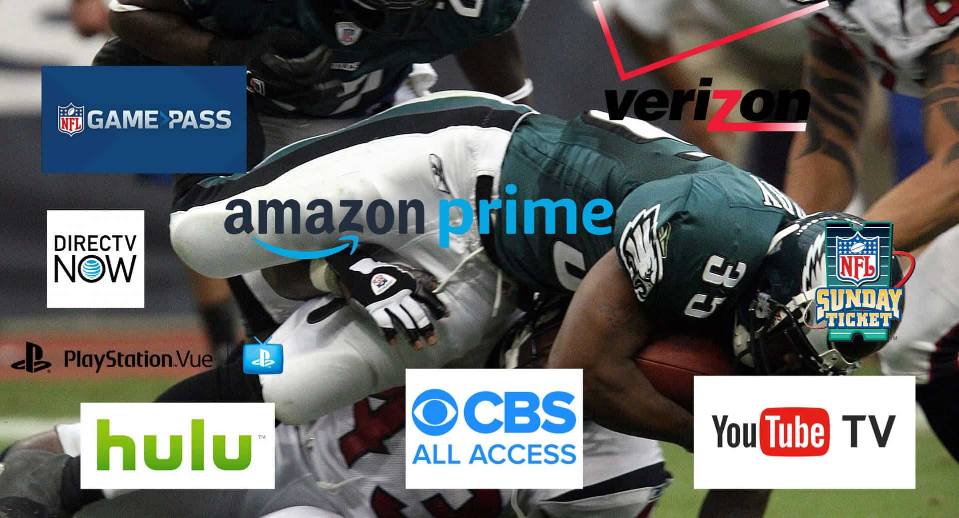 Complete guide to stream NFL games live in 2018 - TV, OTT