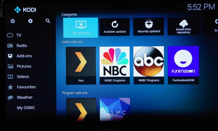 Kodi Addon Browser