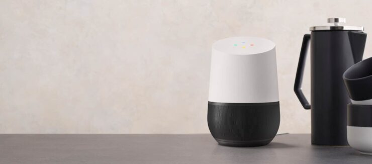 Assign Google Home to different rooms - Google Home unit