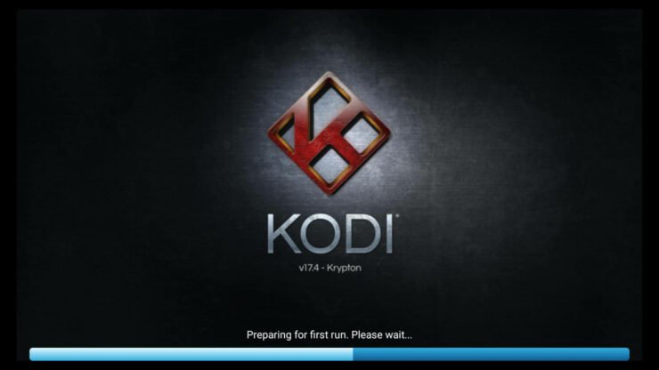 Open Kodi on new device