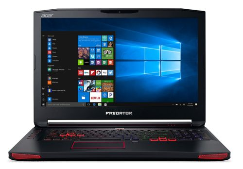 Acer Predator 17 Gaming laptop - Best PC for gaming and HTPC use 2017