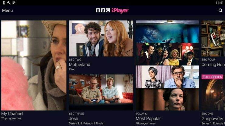 Best Android TV Apps - BBC iPlayer
