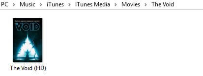 How to remove DRM from iTunes movies - DRMed file