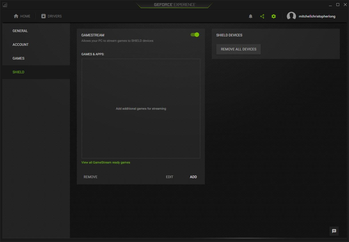 How to stream games to Nvidia Shield TV: Nvidia GameStream