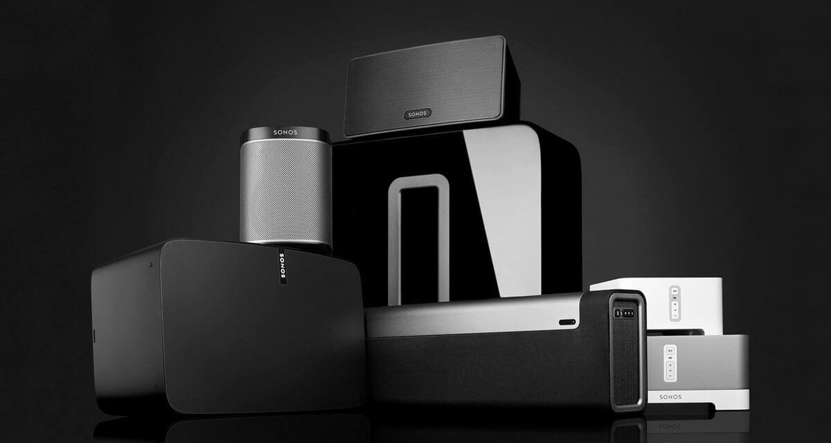 Sonos speakers hero