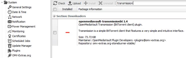 Pi Torrent Box : Configuring Transmission on the Raspberry Pi