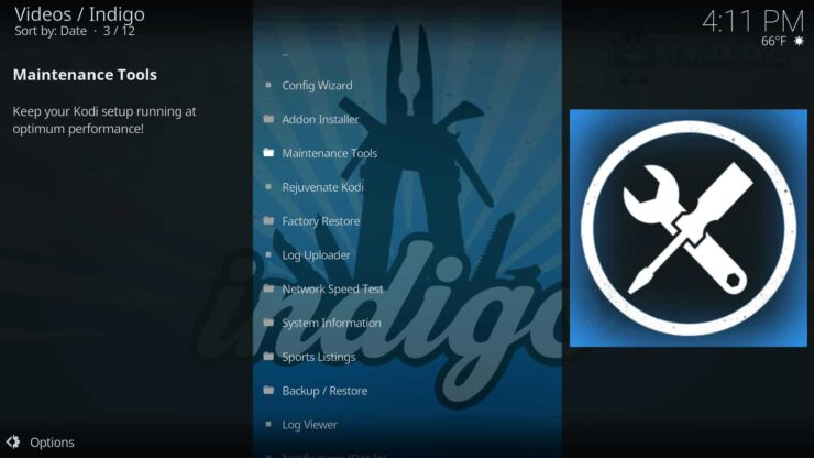Install Indigo Addon on Kodi - Maintenance, Streaming, and more