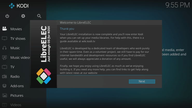How to create a LibreELEC live USB - thank you