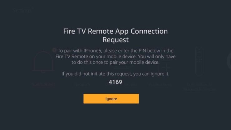 Control Amazon Fire TV Sick with Phone