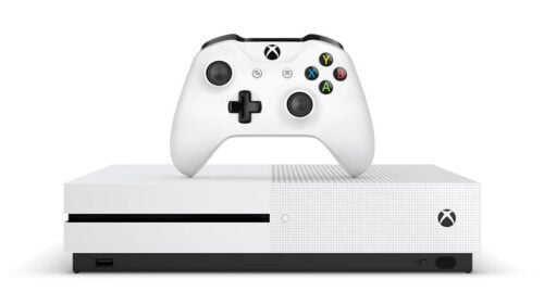 An Xbox One console.