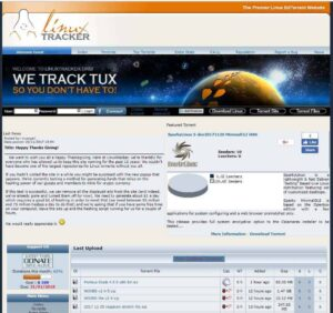 Linux Tracker - best legal torrenting sites 2018