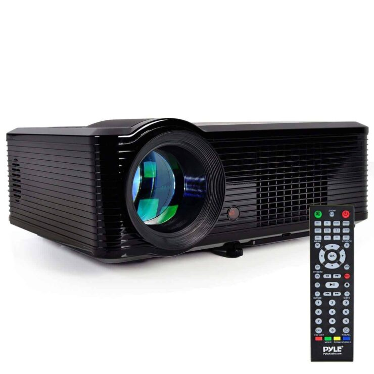 Best home theater projectors 2018 - Pyle Home PRJLE33